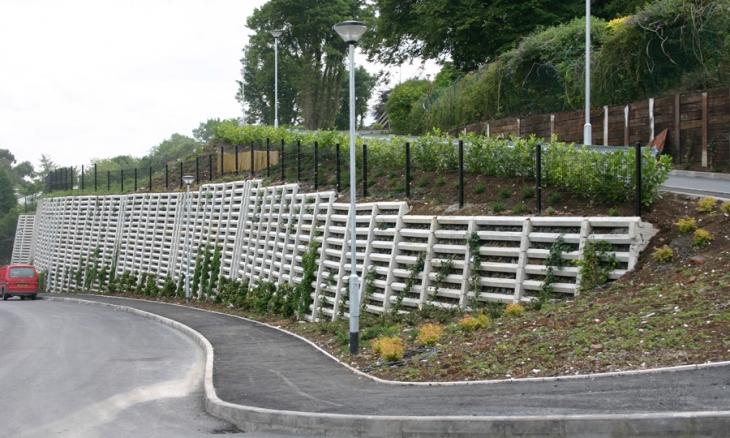 Anda Crib Retain Retaining Wall Solutions